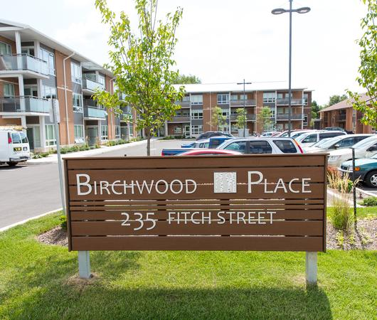 Commercial electrical work at Birchwood Apartments
