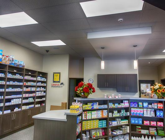 Commercial electrical work at Brock Pharmacy